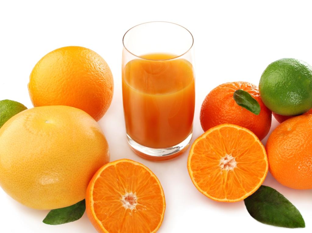 Употребление фруктовых соков