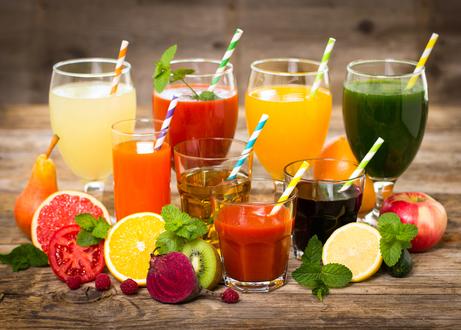 К каким блюдам какой сок подходит